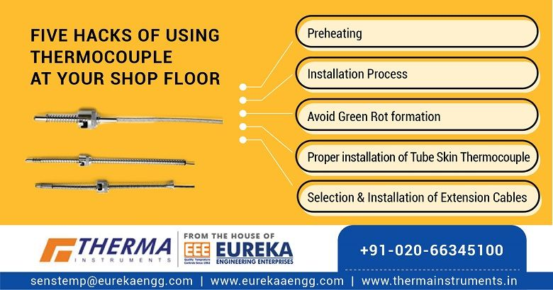 Thermocouple at your shop floor