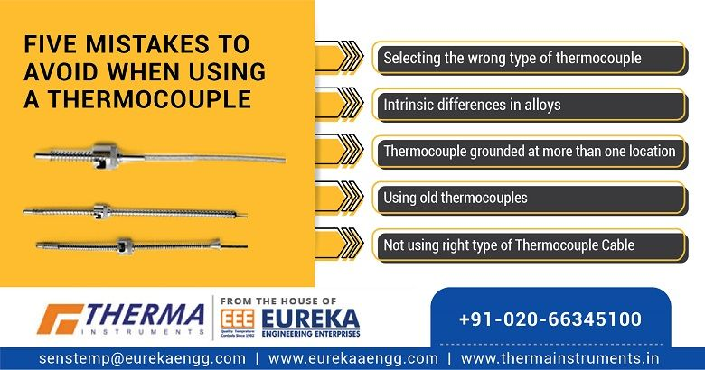 Five Mistakes to Avoid when Using a Thermocouple
